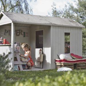 cabane enfant préfabriquée